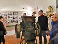 Historische Quetsch- und Malmühle der Saalfelder Firma Paul Kröckel, zu sehen in der aktuellen Sonderausstellung
